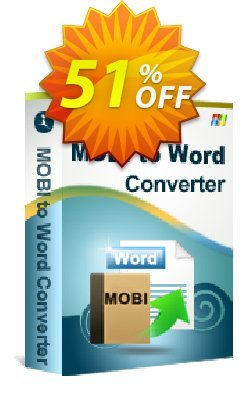 iStonsoft MOBI to Word Converter Coupon, discount 60% off. Promotion: