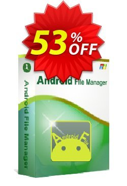 iStonsoft Android File Manager Coupon, discount 60% off. Promotion: