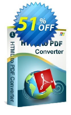 iStonsoft HTML to PDF Converter Coupon, discount 60% off. Promotion: