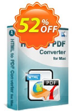 iStonsoft HTML to PDF Converter for Mac Coupon, discount 60% off. Promotion:
