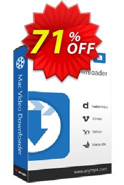 AnyMP4 Mac Video Downloader Coupon discount AnyMP4 Mac Video Downloader stunning discounts code 2020 - 50% AnyMP4