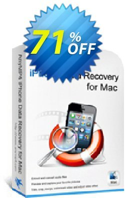 AnyMP4 iPhone Data Recovery for Mac + 6 Devices Coupon discount AnyMP4 coupon (33555) - 50% AnyMP4 promotion