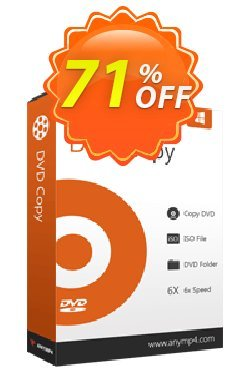 AnyMP4 DVD Copy Lifetime Coupon discount AnyMP4 coupon (33555) -