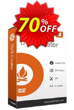 AnyMP4 DVD Creator Lifetime Coupon discount AnyMP4 coupon (33555) -