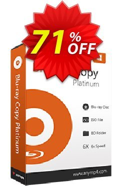 AnyMP4 Blu-ray Copy Platinum - Lifetime Coupon, discount AnyMP4 coupon (33555). Promotion: