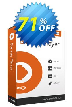 AnyMP4 Blu-ray Player - 1-year  Coupon discount AnyMP4 coupon Blu-ray Player 1-year (33555) -