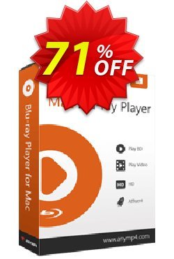 AnyMP4 Mac Blu-ray Player lifetime Coupon discount AnyMP4 coupon (33555) -