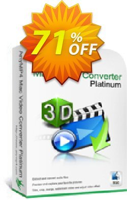 AnyMP4 Mac Video Converter Platinum Coupon discount AnyMP4 Mac Video Converter Platinum exclusive promo code 2021 - exclusive promo code of AnyMP4 Mac Video Converter Platinum 2021