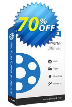 AnyMP4 Mac Video Converter Ultimate Lifetime Coupon discount AnyMP4 coupon (33555) -
