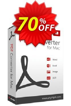 AnyMP4 PDF Converter for Mac Coupon discount AnyMP4 coupon (33555) -