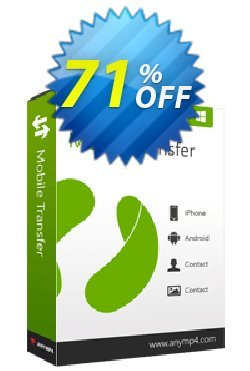 AnyMP4 Mobile Transfer Lifetime Coupon discount AnyMP4 coupon (33555) - 50% AnyMP4