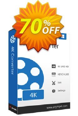 AnyMP4 4K Converter Lifetime Coupon, discount AnyMP4 coupon (33555). Promotion: 50% AnyMP4 promotion