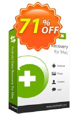 AnyMP4 Android Data Recovery for Mac Lifetime Coupon discount AnyMP4 coupon (33555) - 50% AnyMP4 promotion