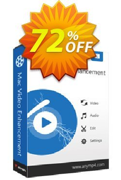 AnyMP4 Mac Video Enhancement Lifetime Coupon discount AnyMP4 coupon (33555) - 50% AnyMP4 promotion