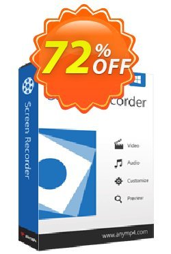 AnyMP4 Screen Recorder Lifetime Coupon discount AnyMP4 coupon (33555) - 50% AnyMP4 promotion
