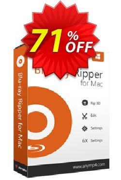 AnyMP4 Blu-ray Ripper for Mac Coupon discount AnyMP4 coupon (33555) -