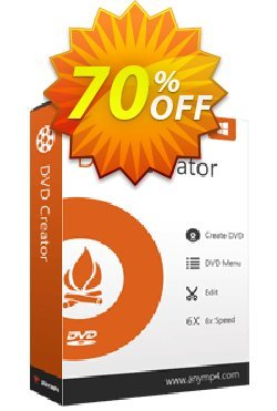 AnyMP4 DVD Creator Coupon discount AnyMP4 coupon (33555). Promotion: