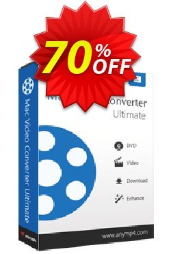 AnyMP4 Mac Video Converter Ultimate Coupon discount AnyMP4 coupon (33555) -