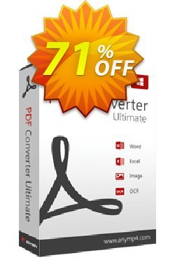 AnyMP4 PDF Converter Ultimate Coupon discount AnyMP4 coupon (33555) -