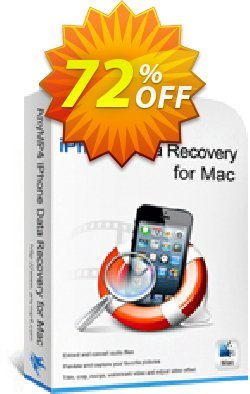 AnyMP4 iPhone Data Recovery for Mac Coupon discount AnyMP4 coupon (33555). Promotion: