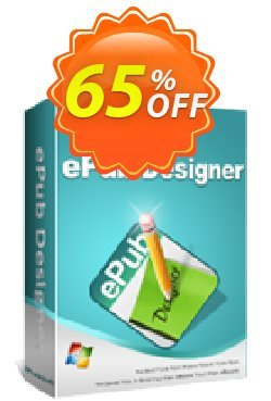 iPubsoft ePub Designer Coupon, discount 65% disocunt. Promotion: