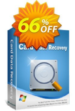 iPubsoft Card Data Recovery Coupon, discount 65% disocunt. Promotion: