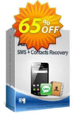 iPubsoft Android SMS+Contacts Recovery - Mac Version  Coupon, discount 65% disocunt. Promotion: