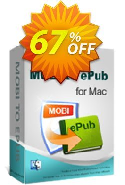 iPubsoft MOBI to ePub Converter for Mac Coupon, discount 65% disocunt. Promotion:
