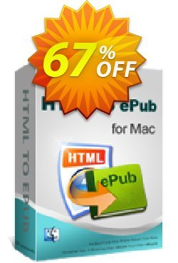 iPubsoft HTML to ePub Converter for Mac Coupon, discount 65% disocunt. Promotion: