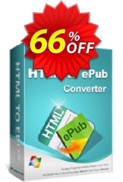 iPubsoft HTML to ePub Converter Coupon, discount 65% disocunt. Promotion: