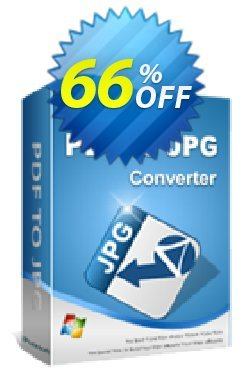 iPubsoft PDF to JPG Converter Coupon, discount 65% disocunt. Promotion: