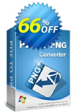 iPubsoft PDF to PNG Converter Coupon, discount 65% disocunt. Promotion: