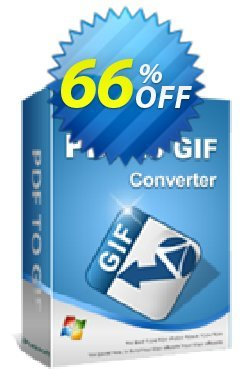iPubsoft PDF to GIF Converter Coupon, discount 65% disocunt. Promotion: