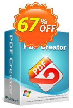 iPubsoft  PDF Creator Coupon, discount 65% disocunt. Promotion: