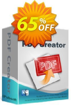 iPubsoft  PDF Creator for Mac Coupon, discount 65% disocunt. Promotion: