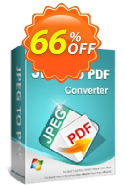 iPubsoft JPEG to PDF Converter Coupon, discount 65% disocunt. Promotion: