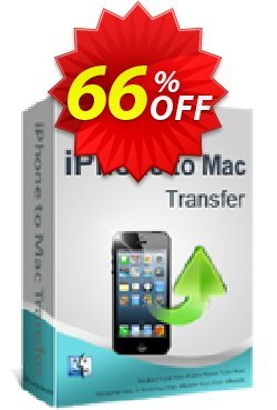 iPubsoft iPhone to Mac Transfer Coupon, discount 65% disocunt. Promotion: