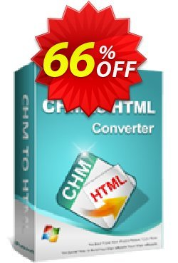 iPubsoft CHM to HTML Converter Coupon, discount 65% disocunt. Promotion: