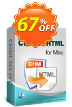 iPubsoft CHM to HTML Converter for Mac Coupon, discount 65% disocunt. Promotion: