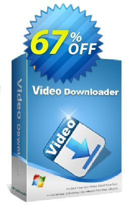 iPubsoft Video Downloader Coupon, discount 65% disocunt. Promotion:
