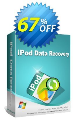 iPubsoft iPod Data Recovery Coupon, discount 65% disocunt. Promotion:
