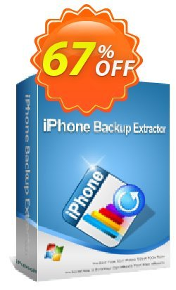 iPubsoft iPhone Backup Extractor Coupon, discount 65% disocunt. Promotion: