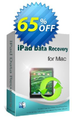 iPubsoft iPad Data Recovery for Mac Coupon, discount 65% disocunt. Promotion:
