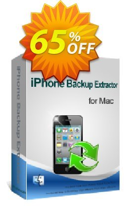 iPubsoft iPhone Backup Extractor for Mac Coupon, discount 65% disocunt. Promotion: