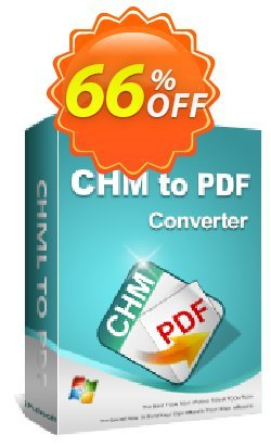 iPubsoft CHM to PDF Converter Coupon, discount 65% disocunt. Promotion: