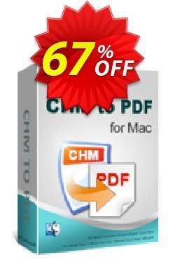 iPubsoft CHM to PDF Converter for Mac Coupon, discount 65% disocunt. Promotion: