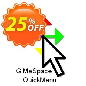 GiMeSpace QuickMenu Coupon, discount GiMeSpace Discount code (35803). Promotion: GiMeSpace coupon code