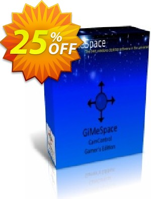 GiMeSpace CamControl Gamer's Edition Coupon, discount GiMeSpace Discount code (35803). Promotion: GiMeSpace coupon code