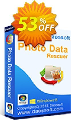 Daossoft Photo Data Rescuer Coupon, discount 40% daossoft (36100). Promotion: 40% daossoft (36100)