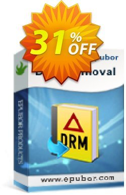 Epubor All DRM Removal Family License Coupon discount  - wonderful deals code of Any DRM Removal for Win 2020